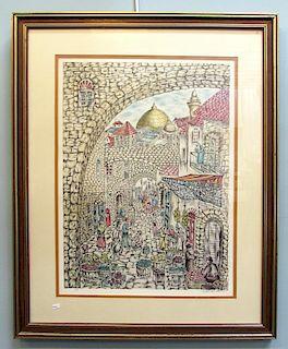 Jerusalem Print