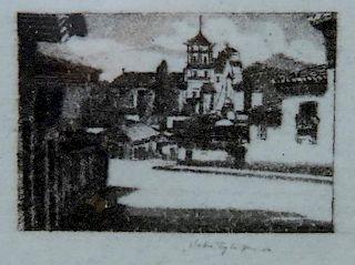 """Patzcuaro, Michoacan, Mexico"" Print"