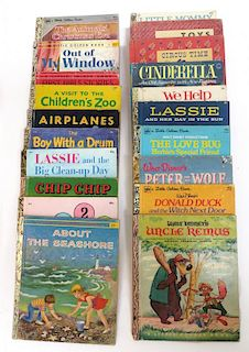 "Nineteen ""Little Golden"" Children's Books"