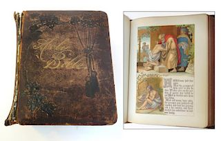 19th Century Presentation Holy Bible.