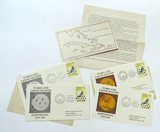 "Rare ""Turks & Caicos"" Limited Issue Stamps"