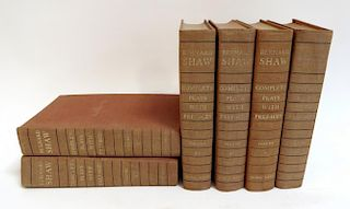 Complete Six Volume Set Of Of George Bernard Shaw Plays