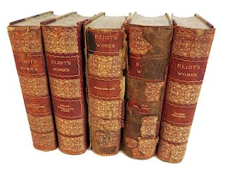 Five Volume Book Set: Elliot's Works