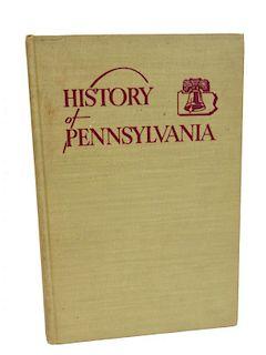 History Of Pennsylvania Book