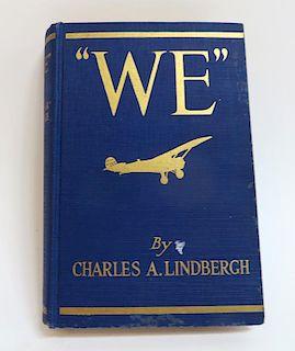 """""""We"""" By Charles Lindbergh"""