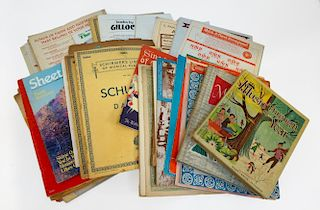 Collection Of Sheet Music