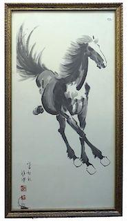 Framed Print Of Horse