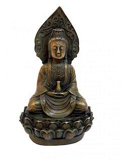 Brass Cast Buddha