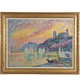 After Paul Signac, painting