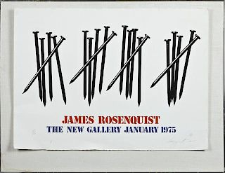 """James Rosenquist (1933, American), poster for """"The"""