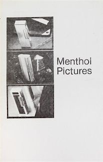 * PRINCE, RICHARD. Menthol Pictures. Buffalo, 1980. Limited.
