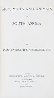 (AFRICA) A group of five books pertaining to African exploration.