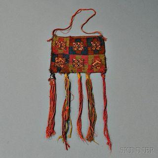 """Pre-Columbian """"Coca"""" Bag"""
