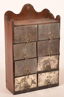 Wall Mounted Spice Box.