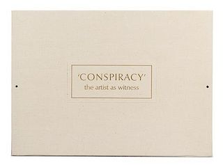 Various Artists, (20th Century), Conspiracy: The Artist as Witness, 1971; The complete portfolio, comprising 7 lithographs and 5