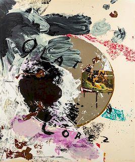 * Julian Schnabel, (American, b. 1951), Untitled, 1992