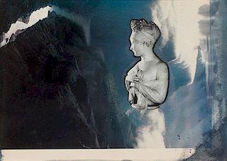 * Joseph Cornell, (American, 1903-1972), Chateau D'Outrotombe de Chateaubriand, Juliette de Recaimier by Chinard, 1966