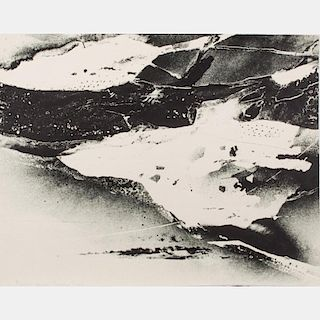 Albert William Christ-Janer (American, 1910-1973) Landforms, Lithograph,