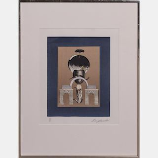 Alain Le Yaouanc (b. 1940) Untitled, Lithograph,