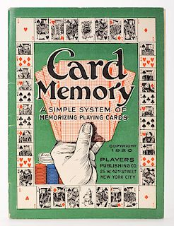 [Card Counting] Card Memory
