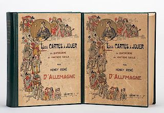 DÍAllemagne, Henry-Ren_. Les Cartes A Jouer du XIV au XX Sicle. Paris
