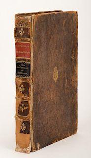 Diderot, Denis and Jean le Rond dÍAlembert (eds.). Encyclopedie Methodique. Dictionanaire Des Jeux Mathematiques/ Dictionnaire Des Jeux Familiers. Pa