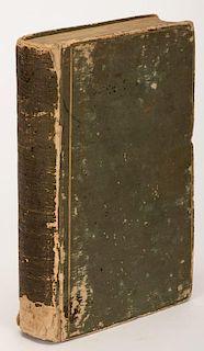 [Gaming] Berliner Alamanach FÙr Karten, Schach Und Pharospieler Auf Das Jahr. Berlin, 1804. Plain nineteenth century green hardcovers with gilt borde
