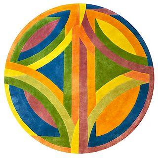 FRANK STELLA Wool rug