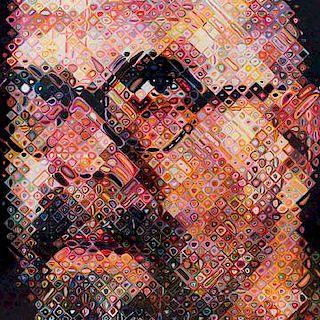 Chuck Close, (American, b. 1940 ), Self Portrait, 2000