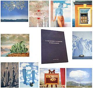 After Rene Magritte Le Peinture et le Philosophie de Rene Magritte, 1979-80