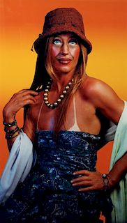 Cindy Sherman Untitled (Self Portrait with a Sun Tan)