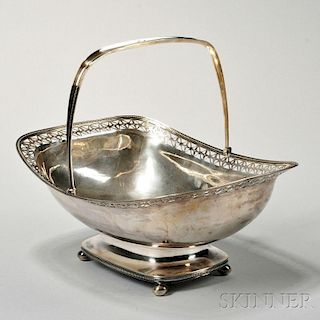 Dutch .934 Silver Basket