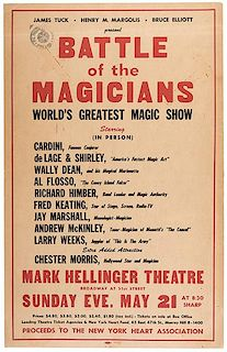 Battle of the Magicians. World's Greatest Magic Show