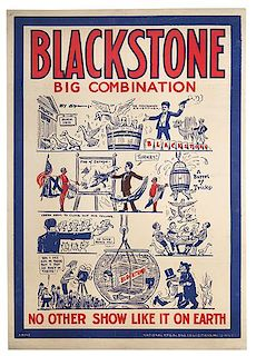 Blackstone, Harry (Henry Boughton). Blackstone. Big Combination.