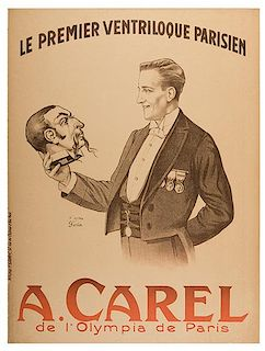 Carel, A. Le Premier Ventriloque Parisien
