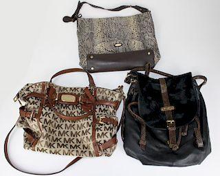 Michael Kors, Tahari, & Cynthia Rowley handbags- 3 pcs