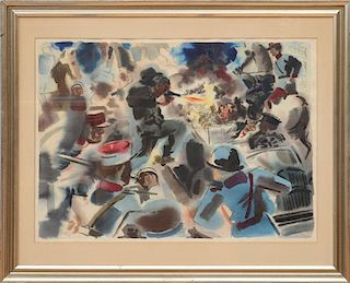 GEORGE GROSZ (1893-1959): THE ASSASSINATION