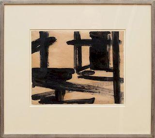 FRANZ KLINE (1910-1962): UNTITLED