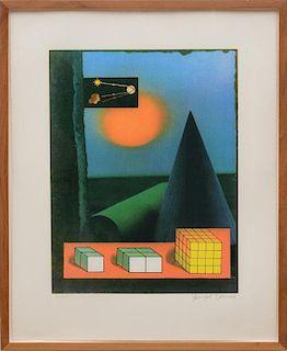 JOSEPH CORNELL (1903-1972): UNTITLED (HOW TO MAKE A RAINBOW)