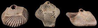 Steve Tobin (American, b. 1957) Ceramic Works (3)
