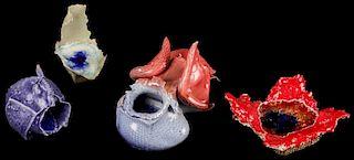 Steve Tobin (American, b. 1957) Ceramic Works (4)