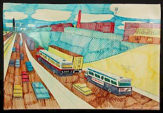 "Wesley Willis (1963-2003) ""The Dan Ryan Expressway..."""