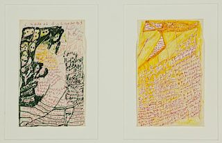 J.B. Murry (1908-1988) Two Works