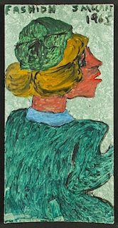 "Justin McCarthy (American, 1892-1977) ""Fashion"", 1962"