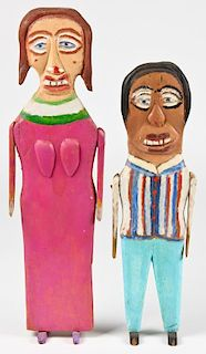 "William Dawson (1901-1990) ""Couple"", 1988"