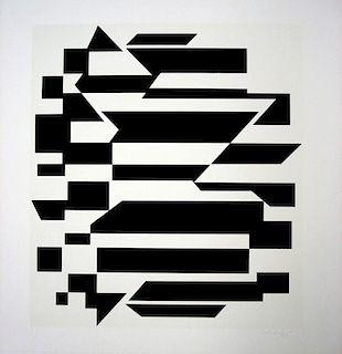 Victor Vasarely,  Untitled, Album Cinホtique NB