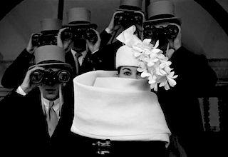 """Frank Horvat """"Givenchy Hat B"""""""