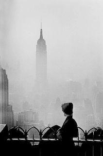 """Elliot Erwitt """"Empire State Building, 1955"""""""