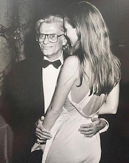 """Ron Galella """"NYC Fashion Week Kate Moss and Richard Avedon, 1993"""""""
