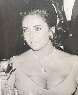 "Ron Galella ""Elizabeth Taylor at the Oscars, 1970"""